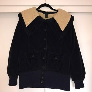 Marc by Marc Jacobs corduroy Sherpa winter jacket